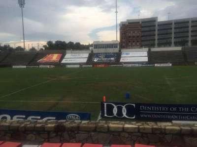 American Legion Memorial Stadium, section: 17R, row: F, seat: 9