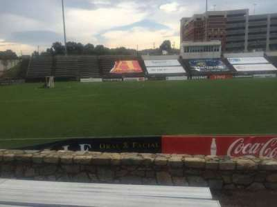 American Legion Memorial Stadium, section: 20R, row: F, seat: 1