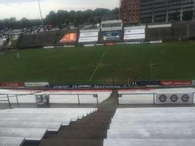 American Legion Memorial Stadium, section: 8, row: PP, seat: 17