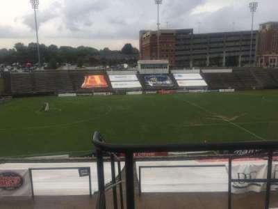 American Legion Memorial Stadium, section: 11, row: GG, seat: 2