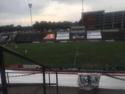 American Legion Memorial Stadium, section: 1, row: FF, seat: 10