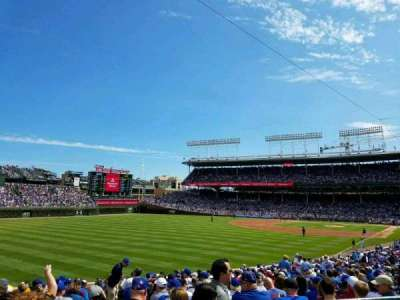 Wrigley Field, section: 201, row: 3, seat: 3