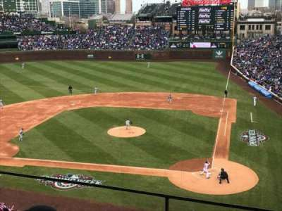 Wrigley Field, section: 417, row: 2, seat: 101