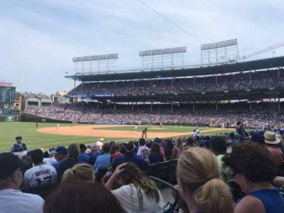 Wrigley Field, section: 108, row: 4, seat: 4