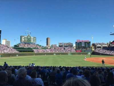 Wrigley Field, section: 109, row: 6, seat: 1