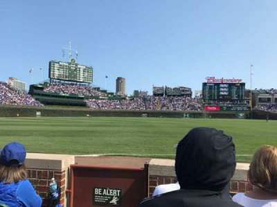 Wrigley Field, section: 7, row: C, seat: 1