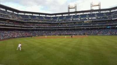 Citizens Bank Park, section: 103, row: 1, seat: 15