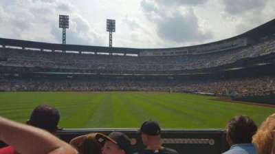 PNC Park, section: 135, row: D, seat: 17