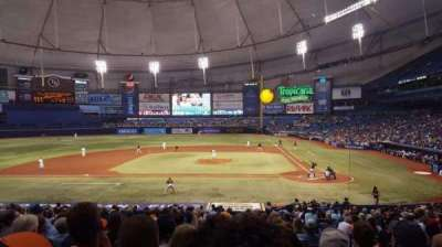 Tropicana Field, section: 111, row: GG, seat: 8