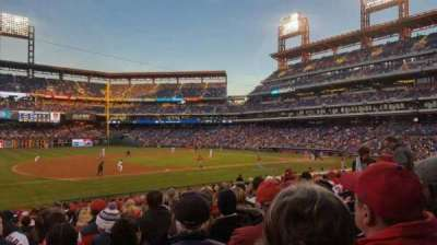 Citizens Bank Park, section: 133, row: 23, seat: 13