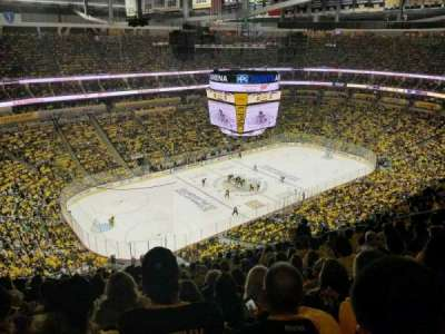 PPG Paints Arena, section: 223, row: P, seat: 14