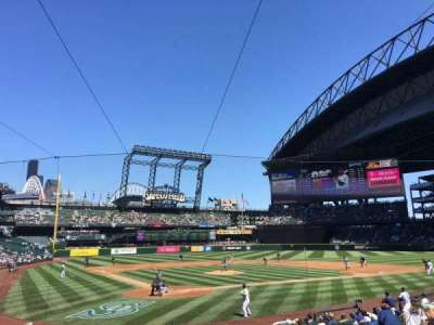 Safeco Field, section: 127, row: 19, seat: 9