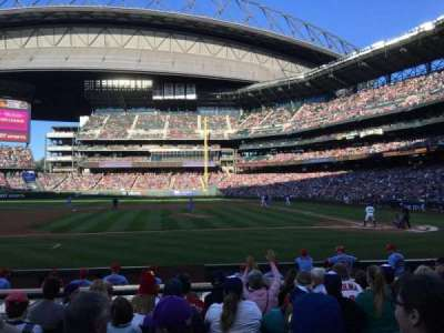 Safeco Field, section: 137, row: 12, seat: 9