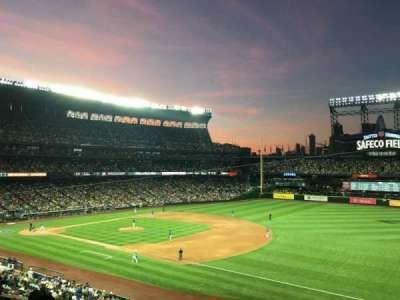 Safeco Field, section: 217, row: 5, seat: 4