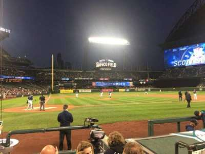 Safeco Field, section: 25, row: G, seat: 3