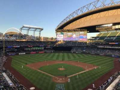 Safeco Field, section: S35, row: 1, seat: 7