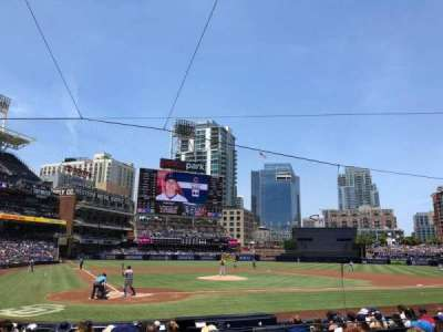 PETCO Park, section: 103, row: 14, seat: 8