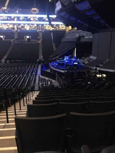 Barclays Center, section: 6, row: 17, seat: 8