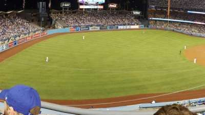 DODGER STADIUM section 39RS