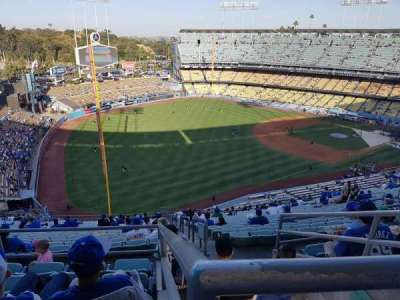 Dodger Stadium, section: 45RS, row: EE, seat: 14
