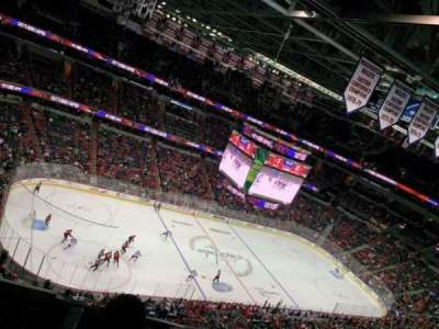 Capital One Arena, section: 431, row: H, seat: 5
