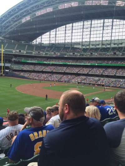 Miller Park, section: 229, row: 5, seat: 16