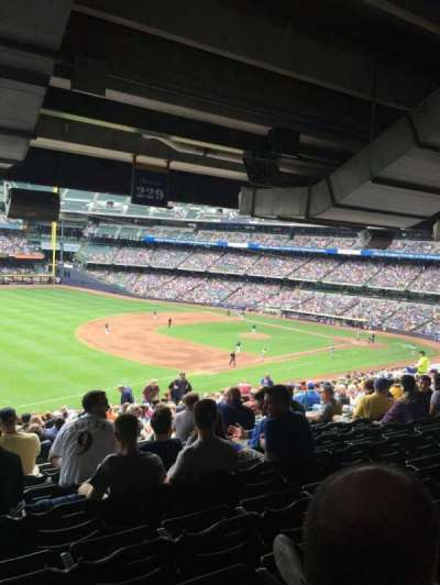 Miller Park, section: 229, row: 21, seat: 15