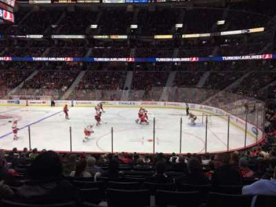 Canadian Tire Centre, section: 103, row: P, seat: 9