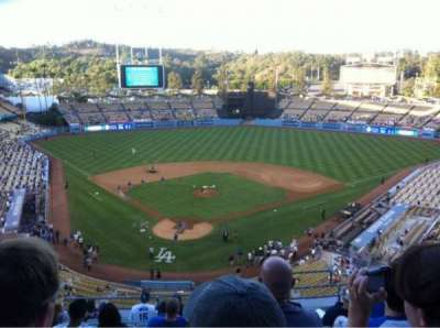 DODGER STADIUM section 4RS