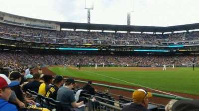 PNC Park, section: 1, row: f, seat: 11