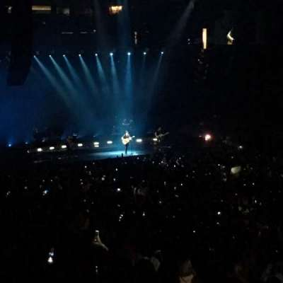 Oracle Arena, section: 111, row: 25, seat: 7,8