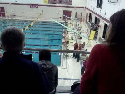 Lockport High School Swimming Place, section: 3, row: 3, seat: 5