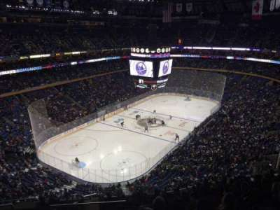 KeyBank Center, section: 310, row: 12, seat: 20