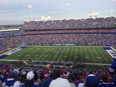 New Era Field, section: 332, row: 24, seat: 21