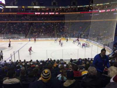 KeyBank Center, section: 104, row: 19, seat: 1