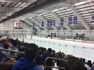 Dwyer Arena, section: 1, row: O, seat: 2