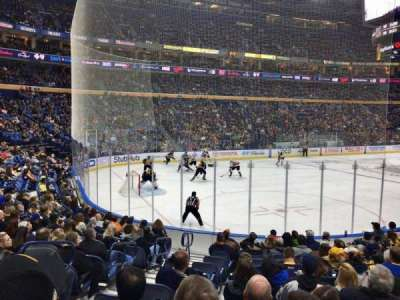 KeyBank Center, section: 109, row: 13, seat: 25