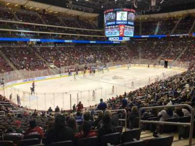 Gila River Arena, section: 115, row: W, seat: 4