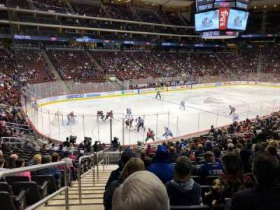 Gila River Arena, section: 114, row: S, seat: 23