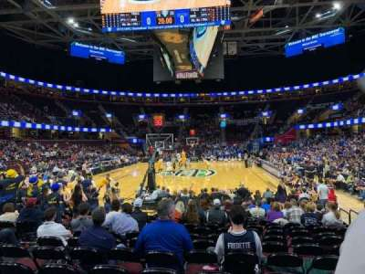 Quicken Loans Arena, section: 117, row: 3, seat: 18