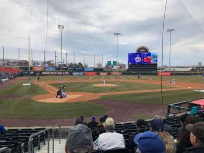 Coca-Cola Field, section: 106, row: K, seat: 14