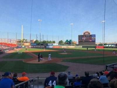 Coca-Cola Field, section: 106, row: J, seat: 12