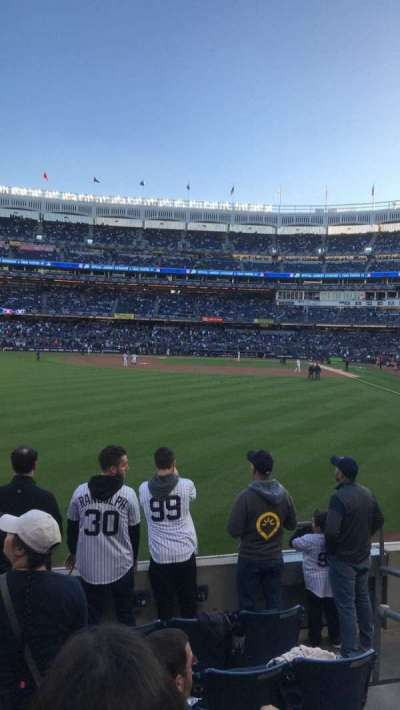 Yankee Stadium, section: 134, row: 6, seat: 3