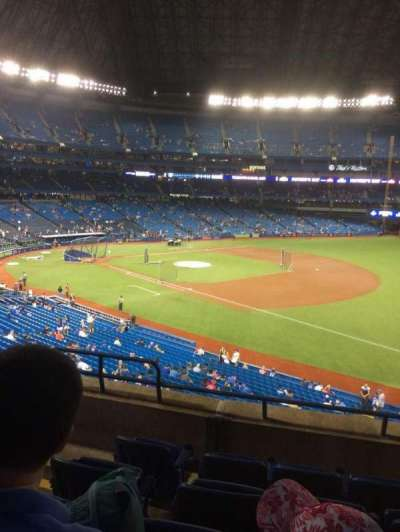 Rogers Centre, section: 214R, row: 5, seat: 4