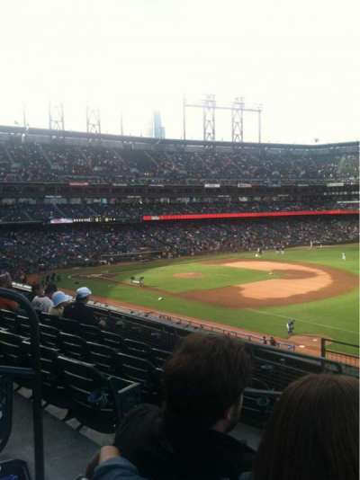 AT&T Park, section: 202, row: E, seat: 10