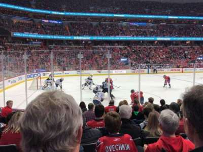 Capital One Arena, section: 109, row: H, seat: 6