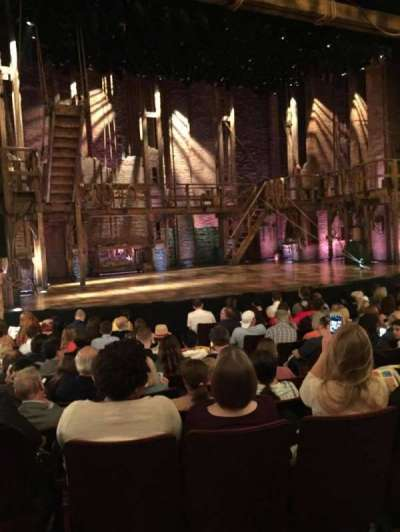 Richard Rodgers Theatre, section: Orchestra, row: K, seat: 5
