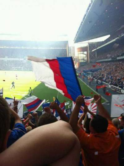 Ibrox Park, section: BF1, row: P, seat: 7