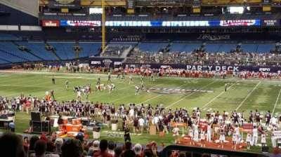 Tropicana Field, section: 128, row: TT, seat: 10