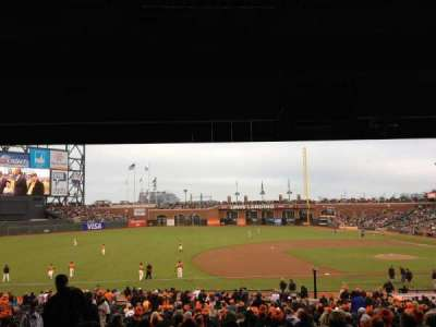 AT&T Park section LB 125